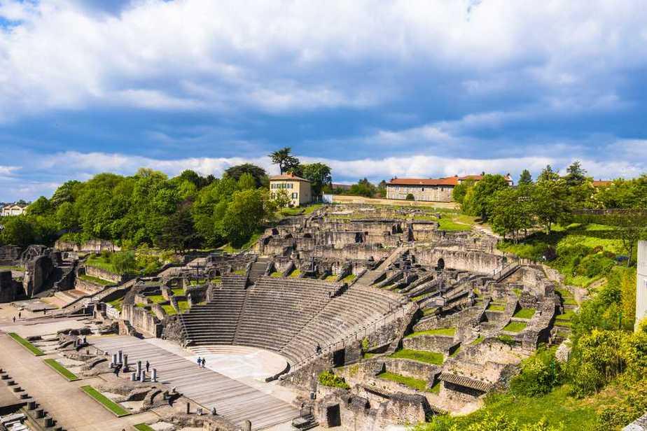 Amphitheater von Lyon - Amphitheater der Drei Gallien Top 5 der antiken Stätten in Lyon