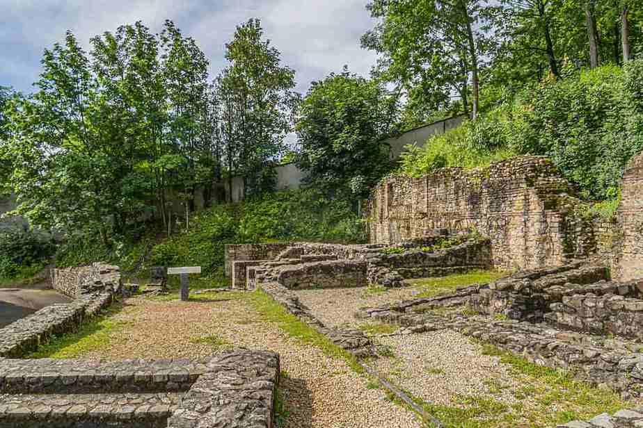 Antike Theater von Fourvière Top 5 der antiken Stätten in Lyon