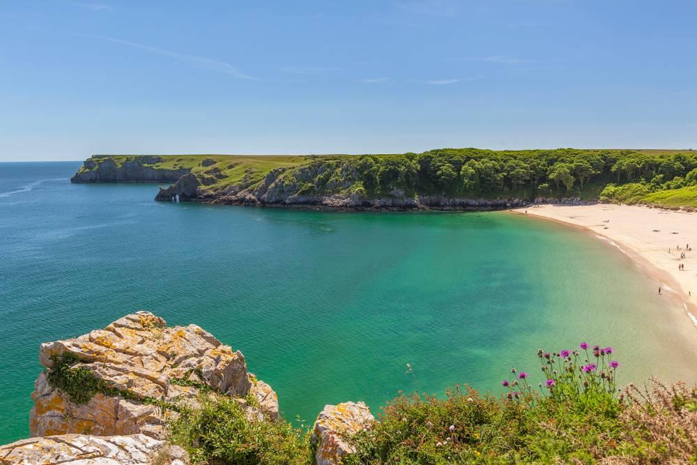Barafundle Bay, Pembrokeshire Die schönsten Strände Wales