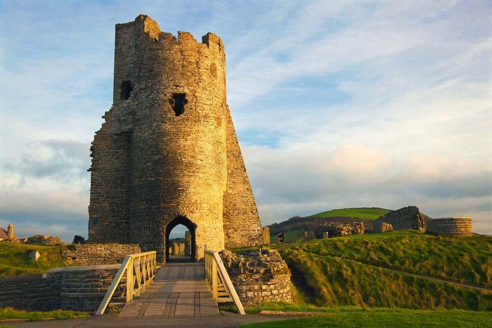 Burg Aberystwyth Die schönsten Burgen in Wales