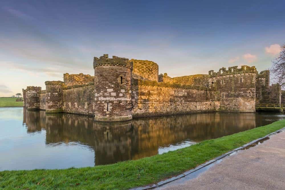 Burg Beaumaris, Anglesey Die schönsten Burgen in Wales