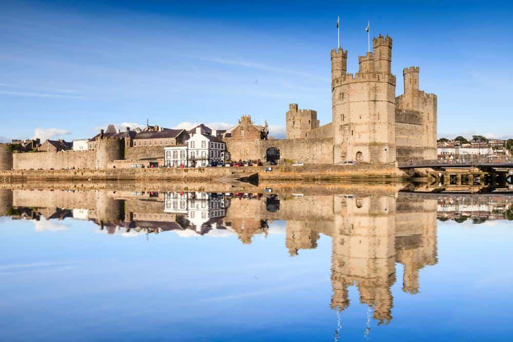 Burg Caernarfon Die schönsten Burgen in Wales