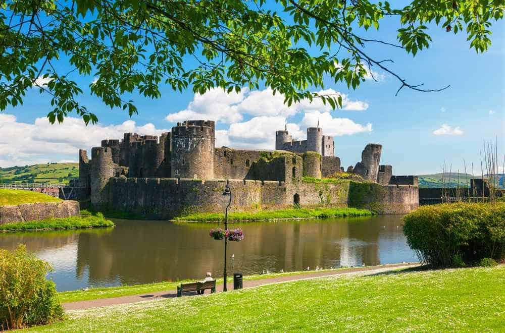 Burg Caerphilly Die schönsten Burgen in Wales