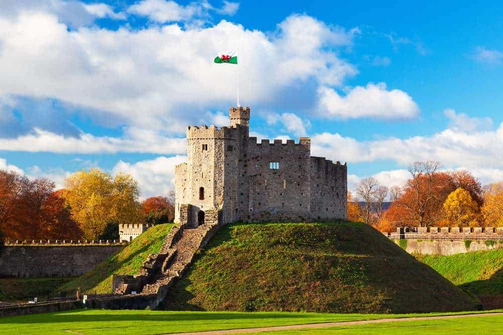 Burg Cardiff Die schönsten Burgen in Wales