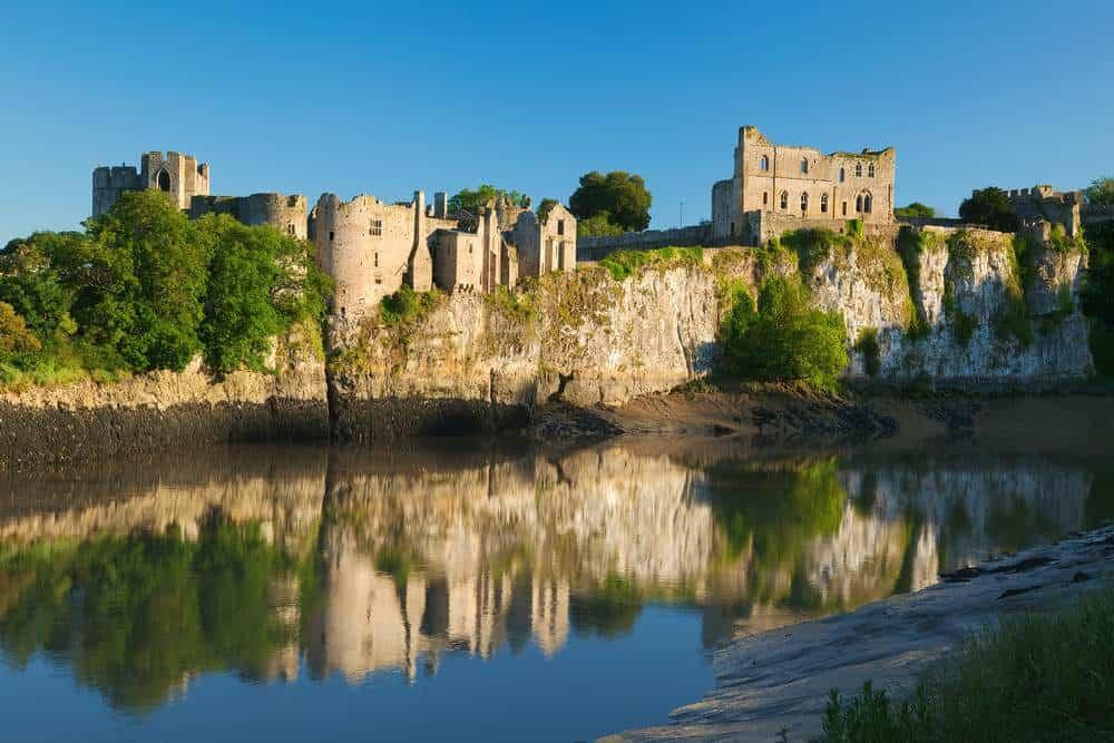 Burg Chepstow Die schönsten Burgen in Wales
