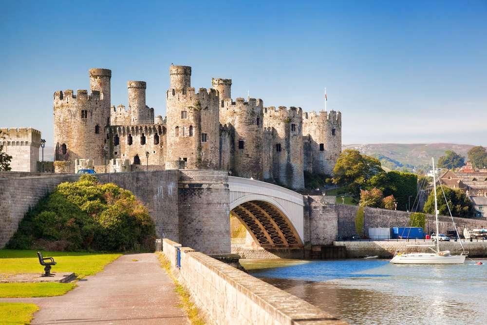 Burg Conwy Die schönsten Burgen in Wales