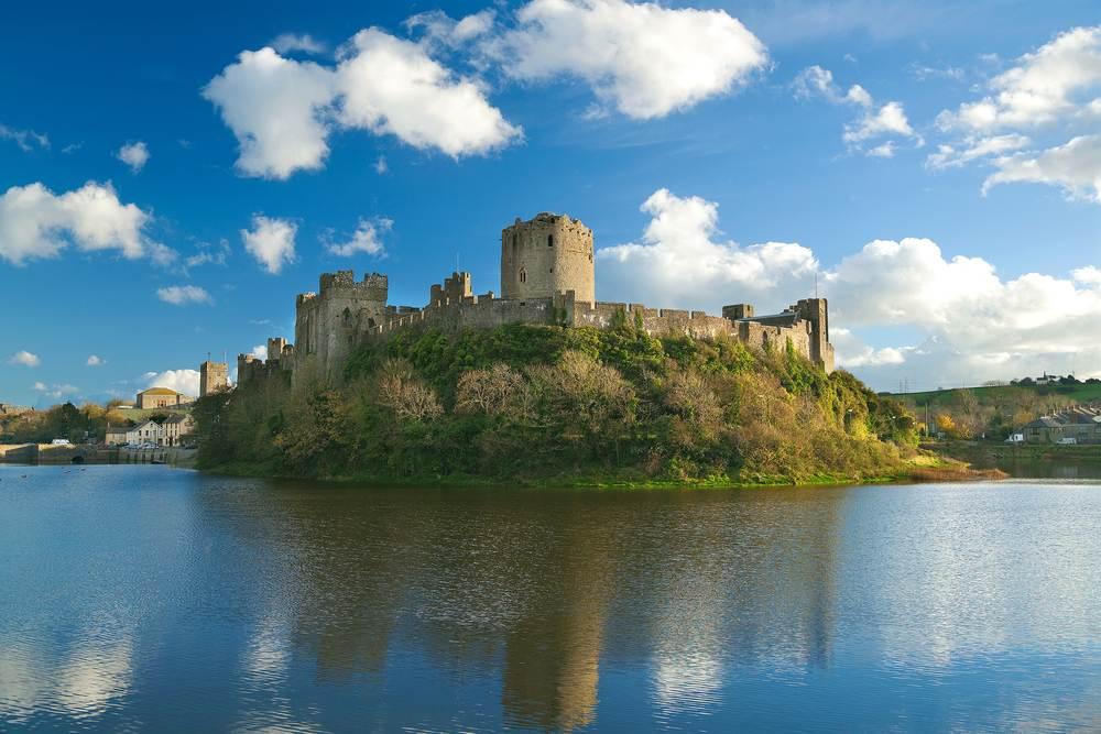 Burg Pembroke Die schönsten Burgen in Wales