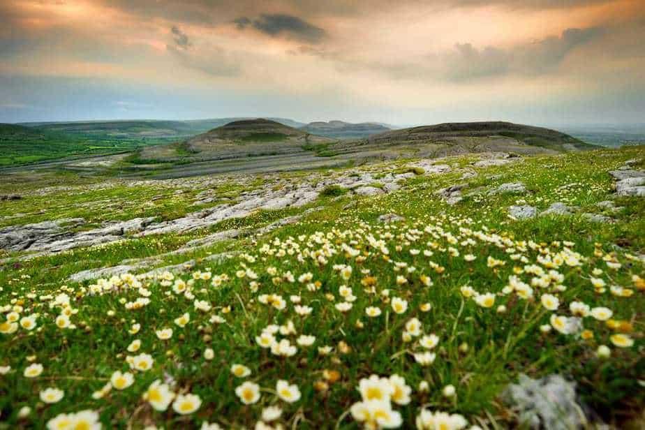 Burren-Nationalpark Irland Sehenswürdigkeiten: Die 18 besten Attraktionen
