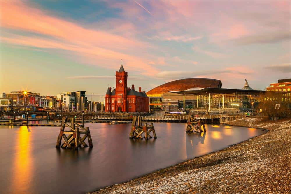 Cardiff Die schönsten Orte in Wales