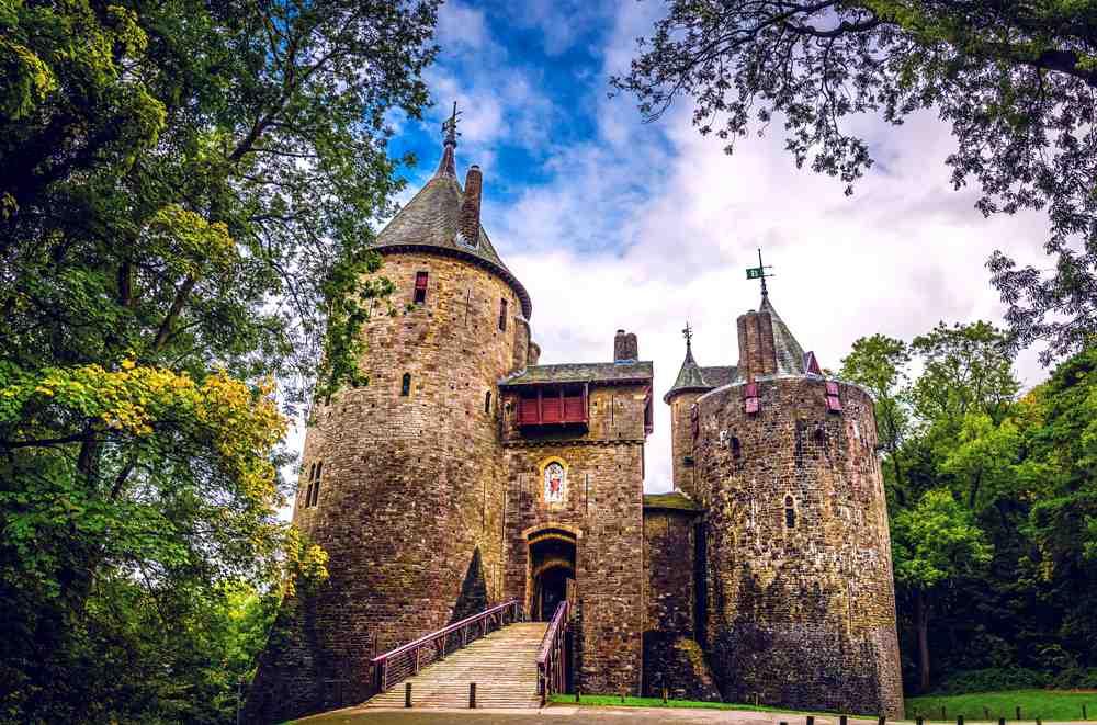 Castell Coch Die schönsten Burgen in Wales