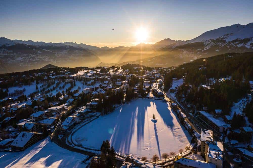 Crans-Montana, Schweiz Silvester in den Bergen: Die besten Skigebiete Europas