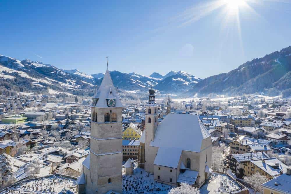 Kitzbühel, Österreich Silvester in den Bergen: Die besten Skigebiete Europas
