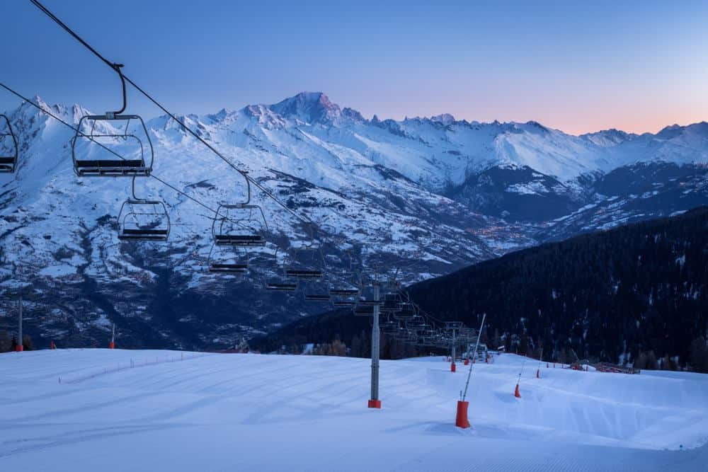 La Plagne Skigebiet, Frankreich Silvester in den Bergen: Die besten Skigebiete Europas