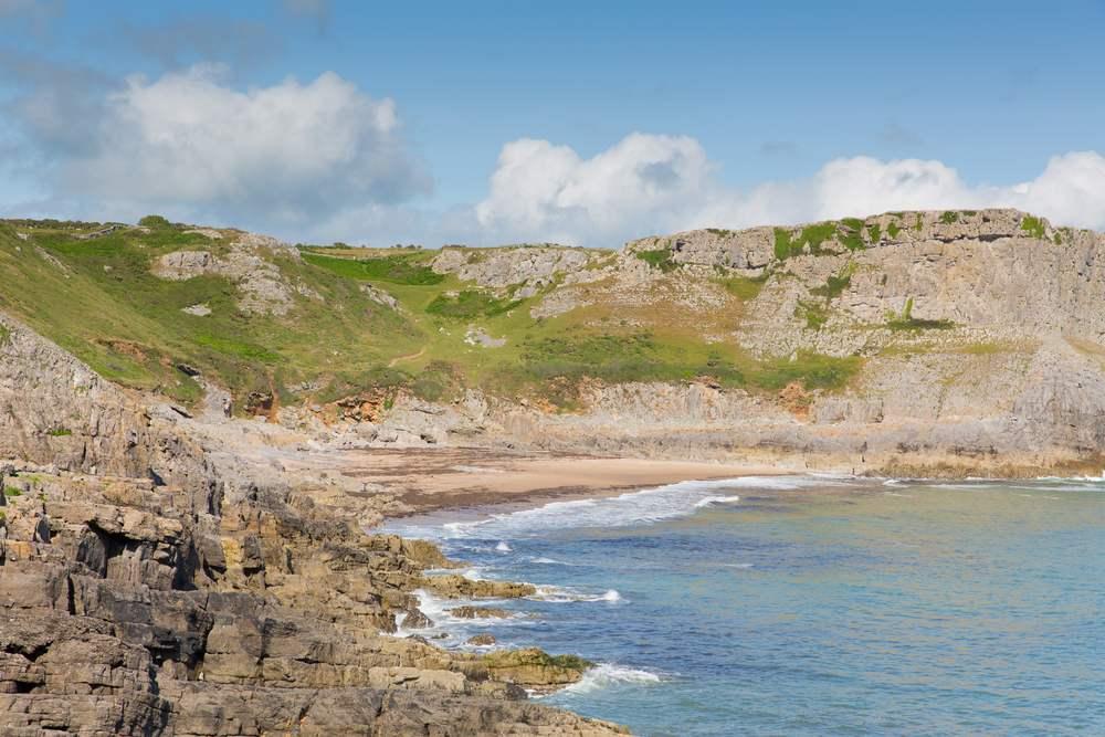 Mewslade Bay, Gower Die schönsten Strände Wales