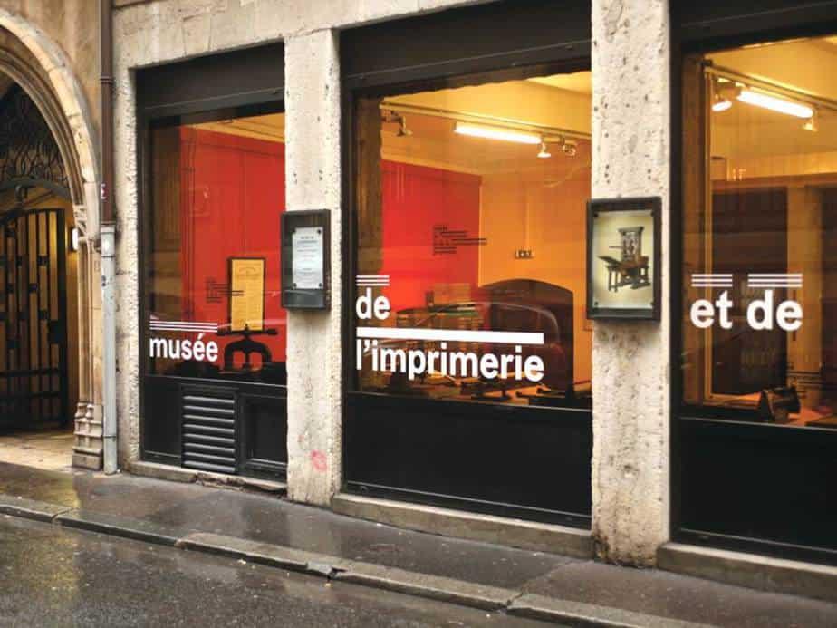 Musée de l'Imprimerie Die besten Museen in Lyon