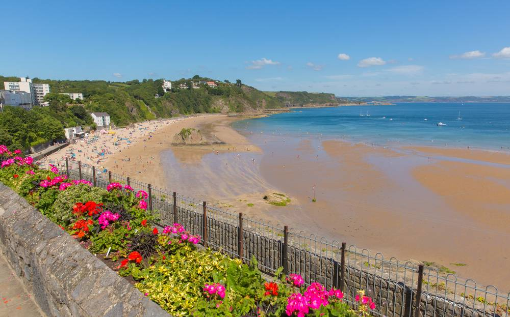 North Beach, Tenby Die schönsten Strände Wales