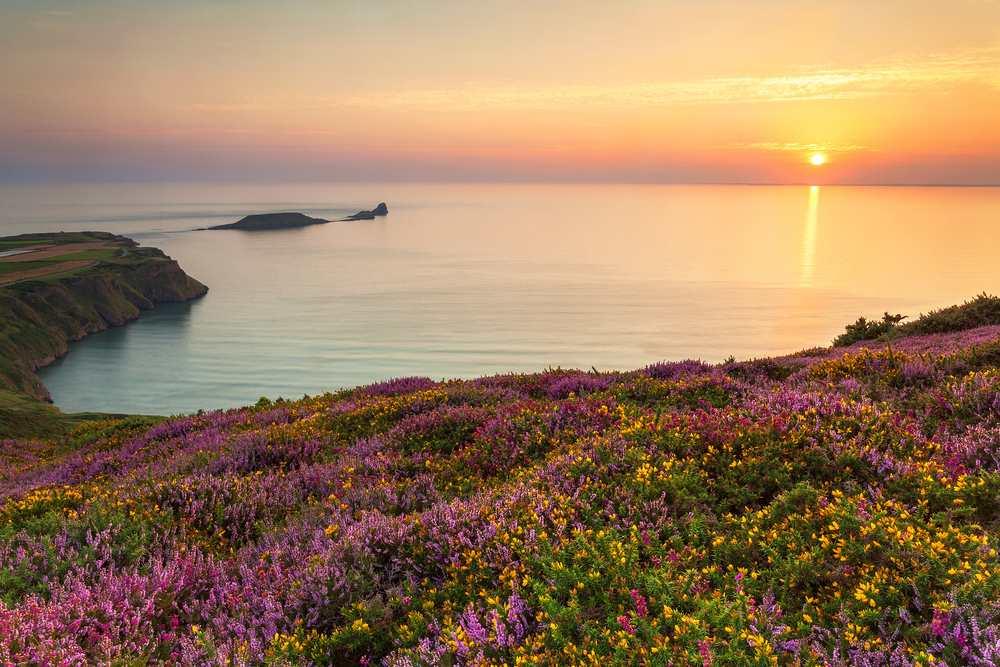 Rhossili Bay, Rhossili Die schönsten Strände Wales