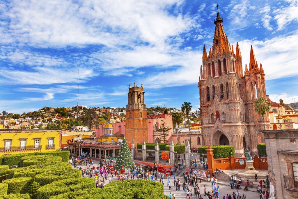 San Miguel de Allende Die romantischsten Flitterwochen-Reiseziele in Mexiko