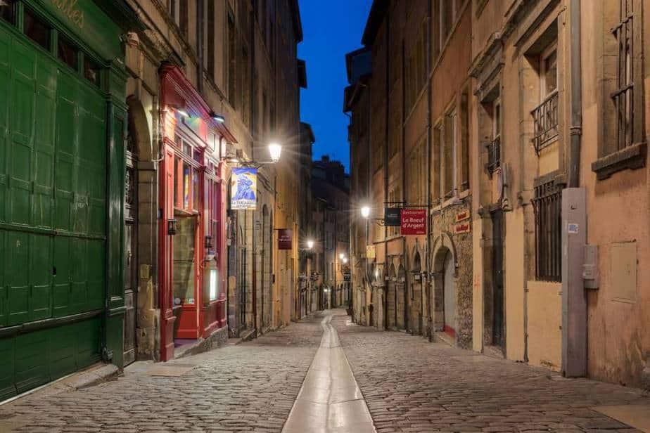 Stadtviertel Saint-Jean Top 5 der antiken Stätten in Lyon