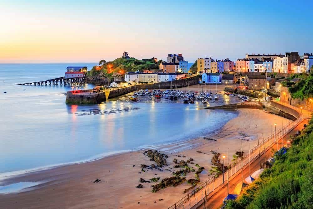 Tenby Die schönsten Orte in Wales