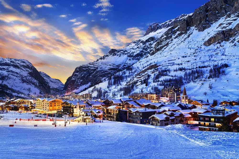 Val d'Isere, Frankreich Silvester in den Bergen: Die besten Skigebiete Europas
