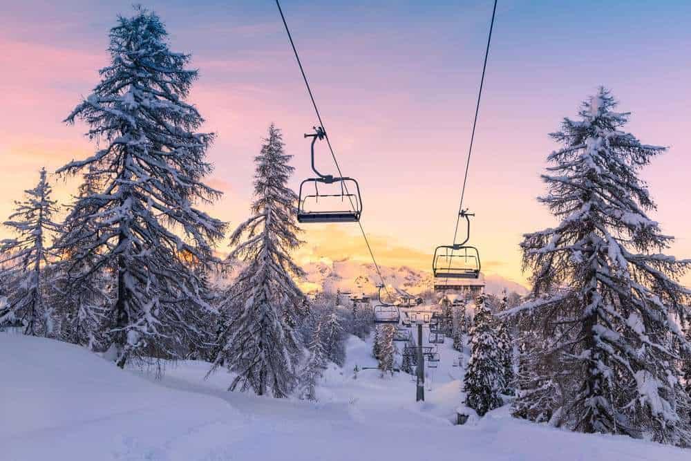 Vogel Skigebiet, Slowenien Silvester in den Bergen: Die besten Skigebiete Europas