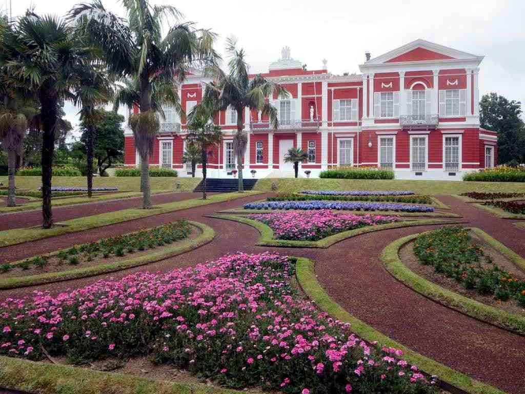 Garten und Palast Sant'Ana Azoren Sehenswürdigkeiten - Die 22 besten Attraktionen
