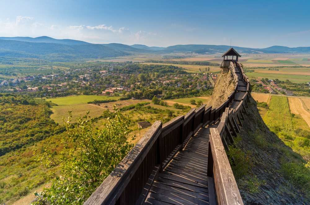 Burg Boldogkő Die schönsten Burgen Ungarns