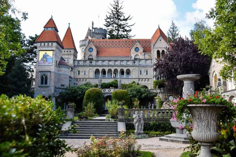 Burg Bory Die schönsten Burgen Ungarns