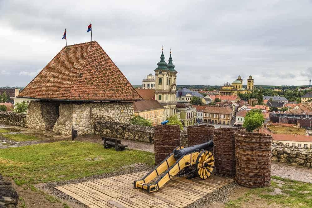 Burg Eger Die schönsten Burgen Ungarns