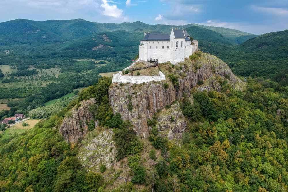Burg Füzér Die schönsten Burgen Ungarns