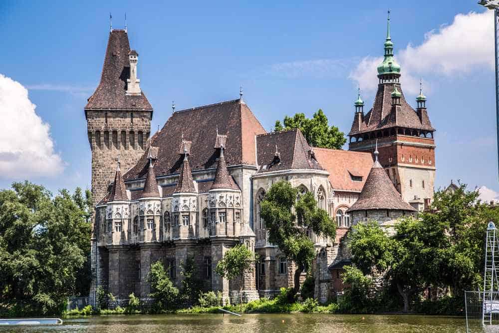 Burg Vajdahunyad Die schönsten Burgen Ungarns