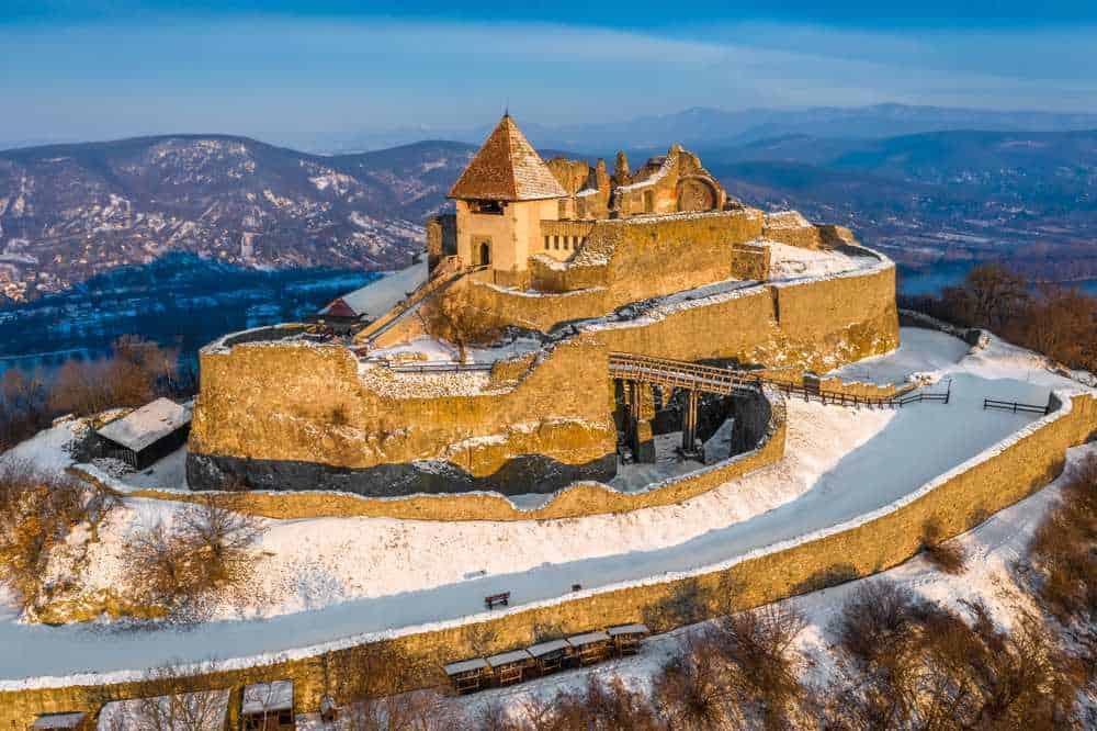 Burg Visegrád Die schönsten Burgen Ungarns