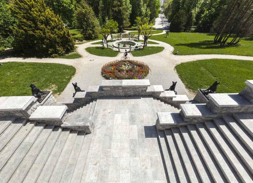 Tivoli-Park Die besten Parks in Ljubljana, Slowenien