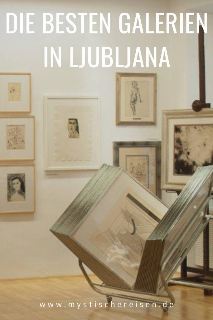 Die besten Galerien in Ljubljana