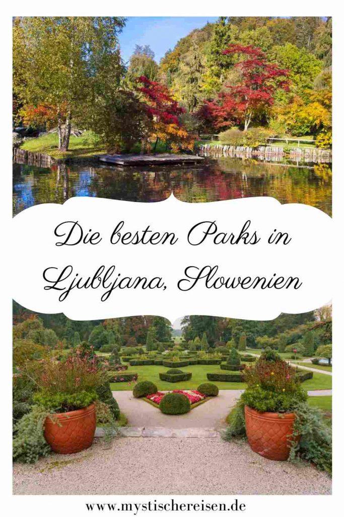 Die besten Parks in Ljubljana, Slowenien