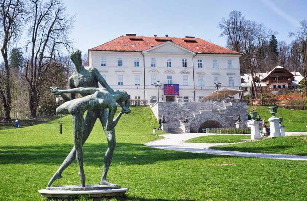 Internationales Zentrum für Grafische Künste Die besten Galerien in Ljubljana
