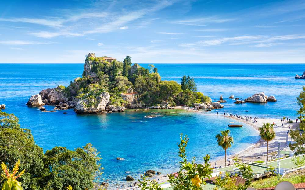Isola Bella Die schönsten Strände Siziliens