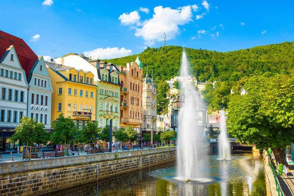 Karlovy Vary - Karlsbad Tschechien Sehenswürdigkeiten - Die 20 besten Attraktionen
