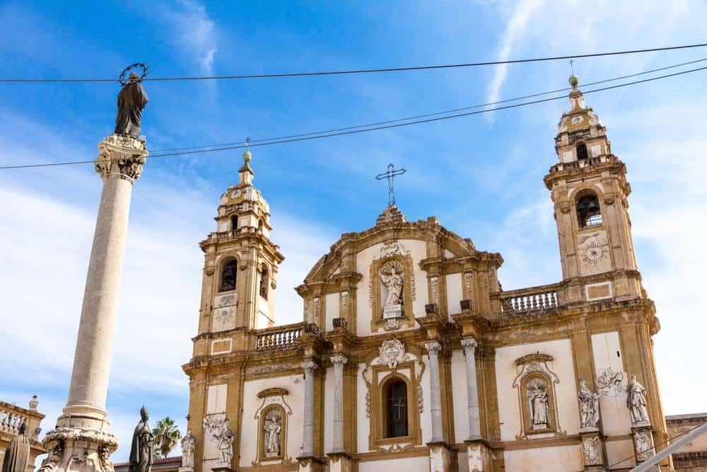 Kirche San Domenico Die schönsten Kirchen Siziliens