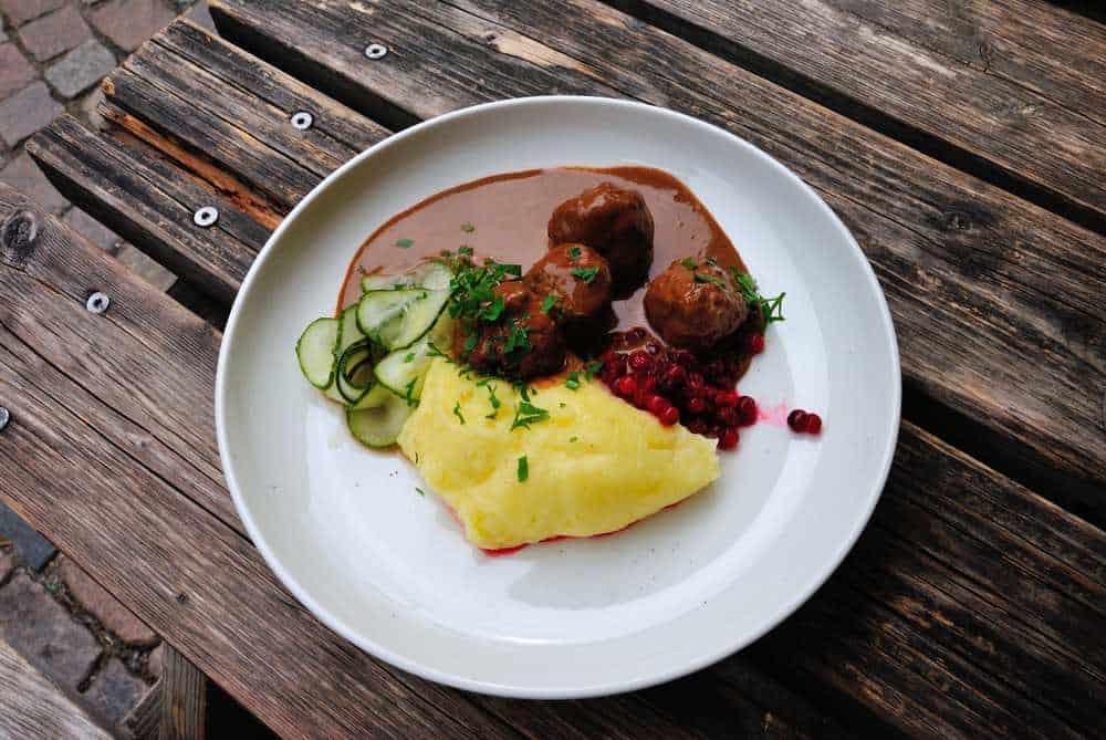 Köttbullar Schwedische Spezialitäten: 20 Typisch schwedische Essen, Die Sie Probieren Sollten