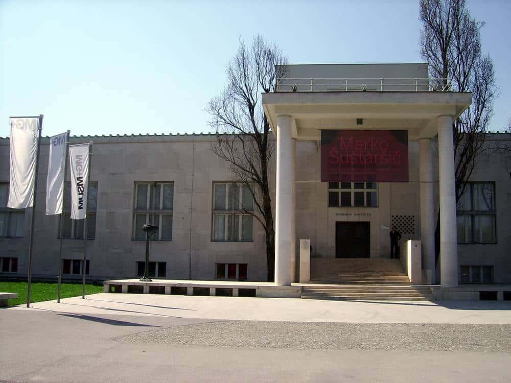 Moderne Galerie - Museum für Moderne Kunst Die besten Galerien in Ljubljana