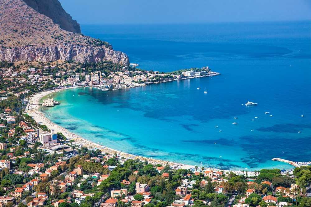 Mondello Die schönsten Strände Siziliens