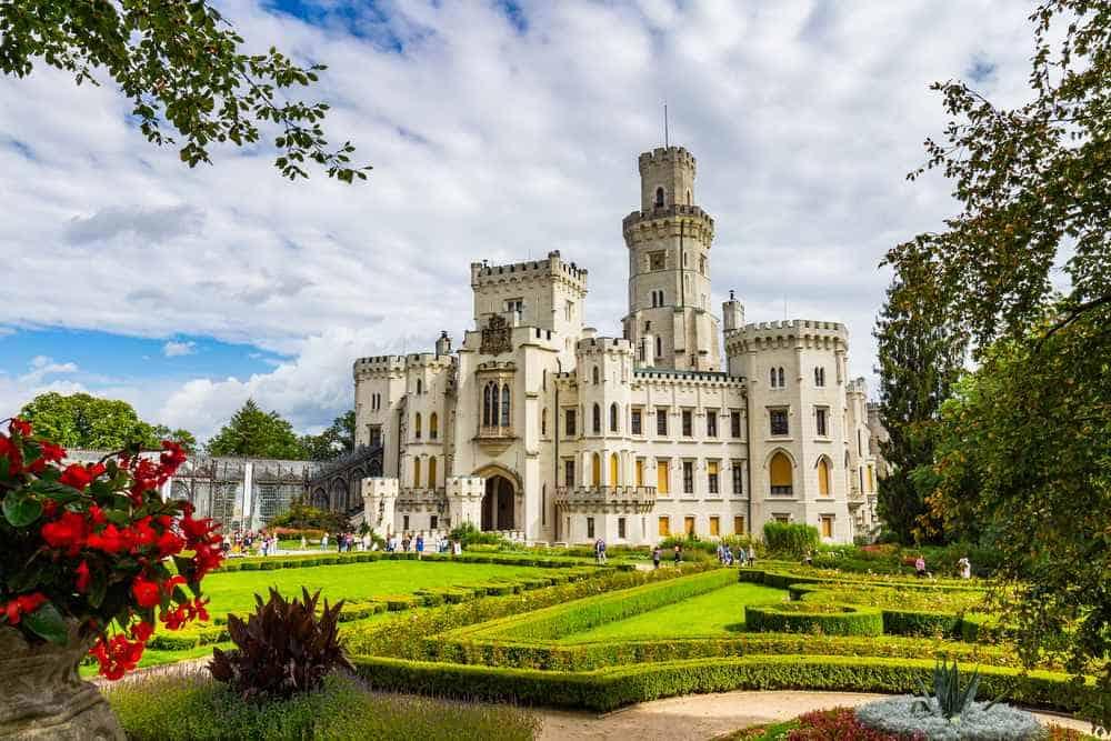 Schloss Hluboká nad Vltavou Tschechien Sehenswürdigkeiten - Die 20 besten Attraktionen
