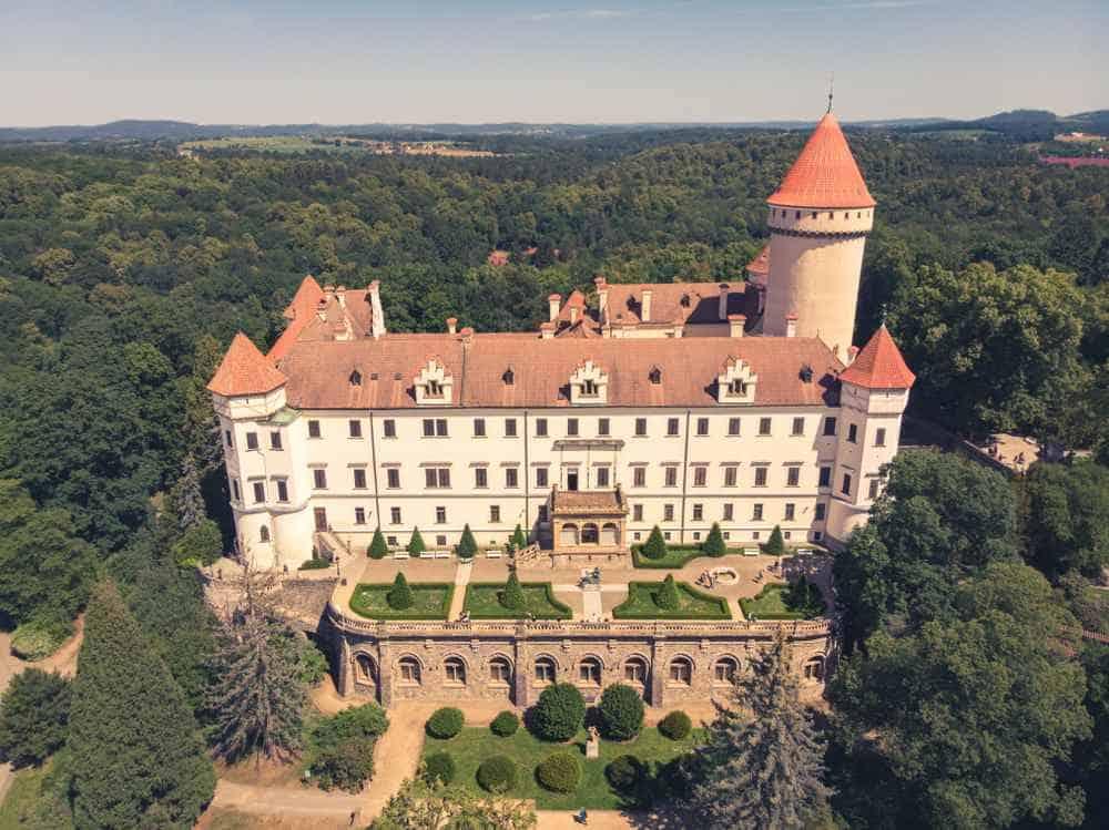 Schloss Konopiště Tschechien Sehenswürdigkeiten - Die 20 besten Attraktionen