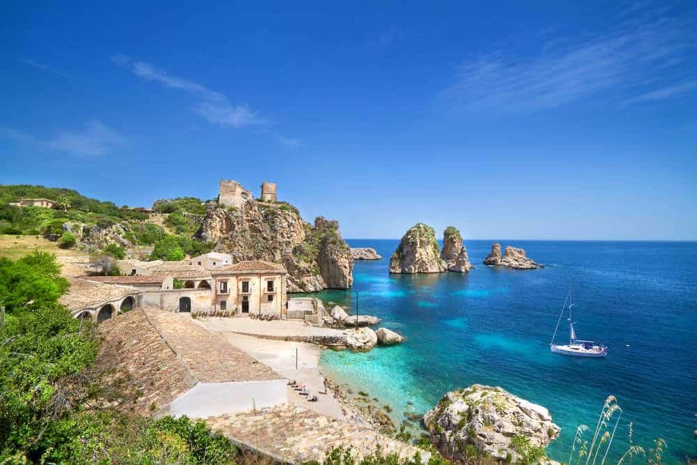 Scopello Die schönsten Strände Siziliens