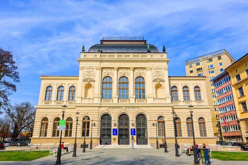 Slowenische Nationalgalerie Die besten Galerien in Ljubljana