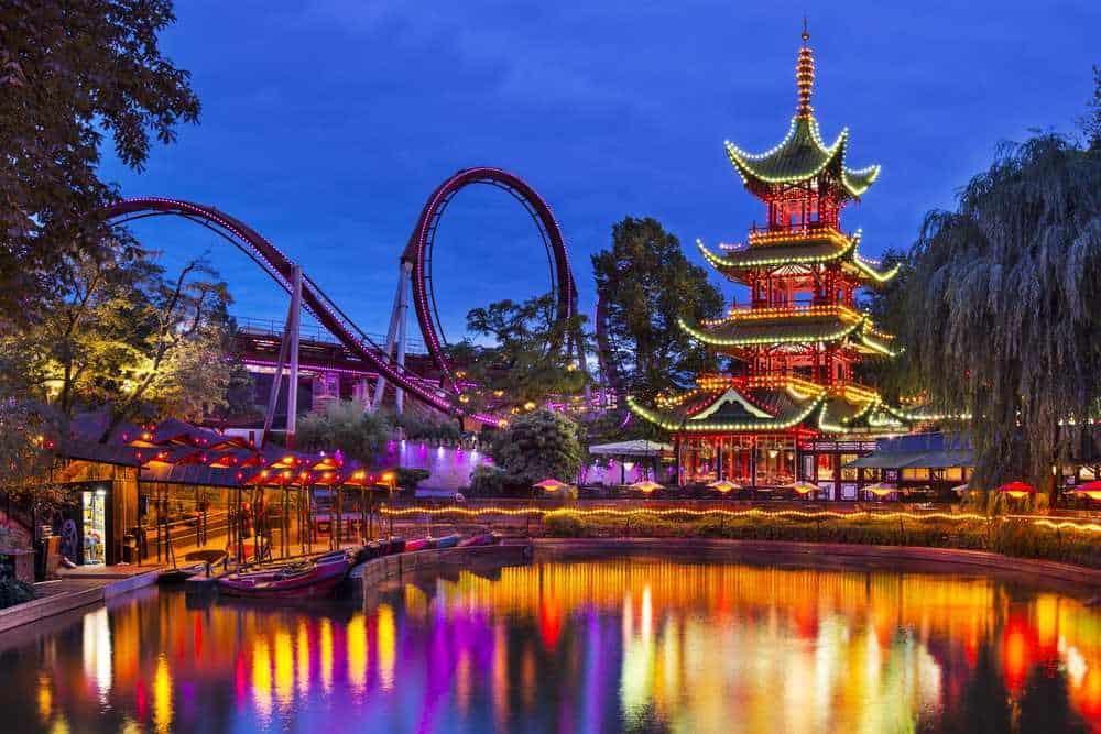 Vergnügungs- und Erholungspark Tivoli Dänemark Sehenswürdigkeiten: Die 20 besten Attraktionen