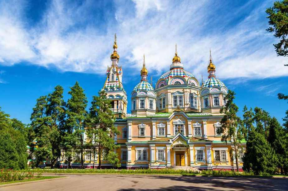 Christi-Himmelfahrt-Kathedrale, Almaty Kasachstan Sehenswürdigkeiten - Die 20 besten Attraktionen