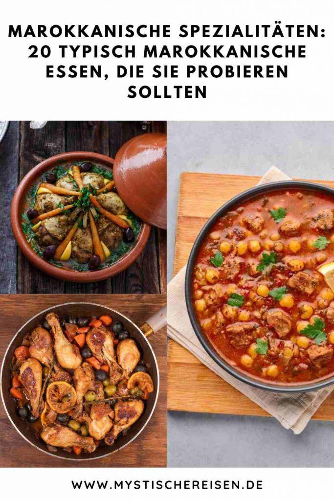 Marokkanische Spezialitäten: 20 typisch Marokkanische Essen, Die Sie Probieren Sollten